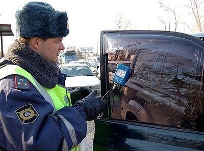 Штраф за тонировку увеличится до 500 рублей