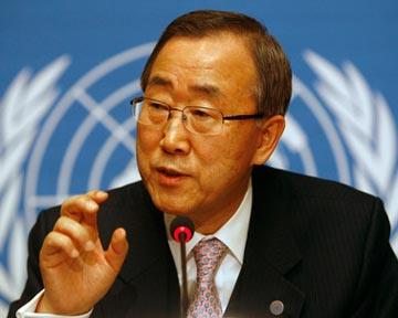 Генсек ООН призвал Сирию немедленно прекратить военные операции
