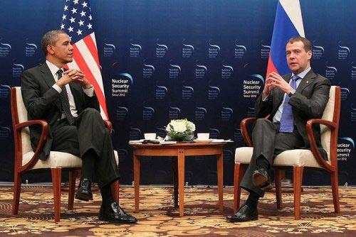 Медведев и Обама сделали совместное заявление по Сирии