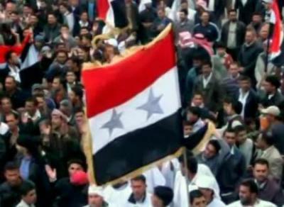 Местные жители помогают армии наводить в Сирии порядок