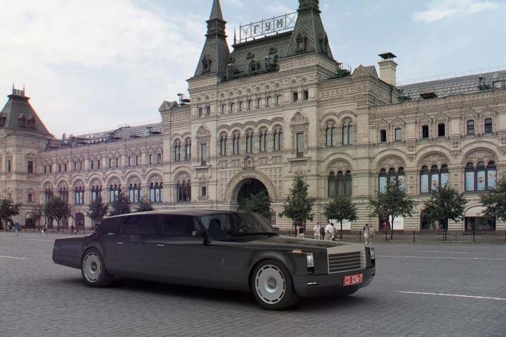 «ЗиЛ» готов построить лимузины Путину и Медведеву