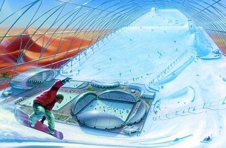 Горнолыжный центр может открыться в Египте