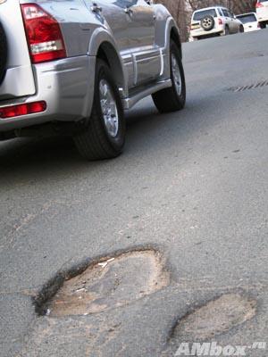 Аварийно-восстановительный ремонт дорог начнется во Владивостоке в ближайшие дни