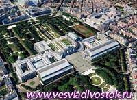 Трехмерный Брюссель на Google Earth