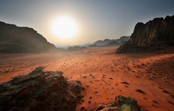 Иорданская пустыня Вади Рам внесена в список ЮНЕСКО