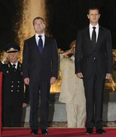 Медведев Уход Асада не решит проблем Сирии