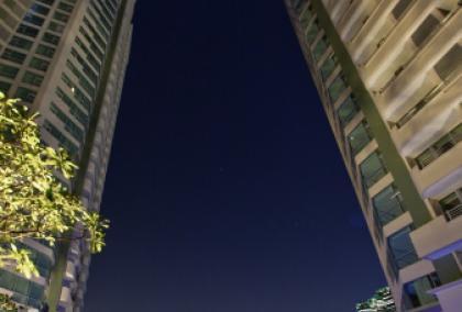 Новый пятизвездочный отель на башнях близнецах в Бангкоке