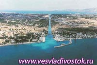Преобразования Каринфского канала, Греция