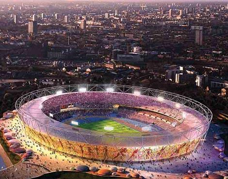 В Лондоне построен Олимпийский стадион 2012