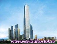 Отель в здание небоскреба в Гонконге