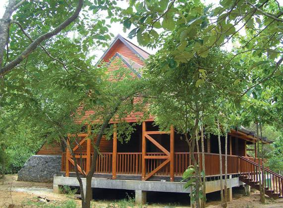 Открытие новой экогостиницы Green Paradise Agro Eco Hotel на Шри-Ланке