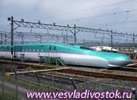 Высокоскоростной поезд Hayabusa, Япония
