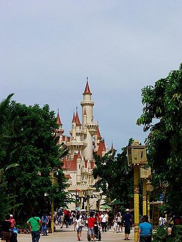 Парк развлечений от Universal Studios в Сингапуре