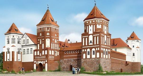 В Белоруссии свои двери открыл Мирский замок