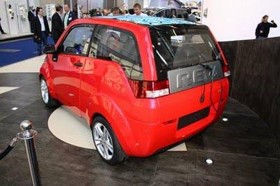 Индийский электромобиль REVA NXR